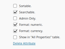 Settings - WP-Property