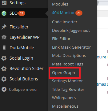 Open Graph SEO